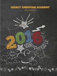 Elementary Yearbook Cover for 2015-16